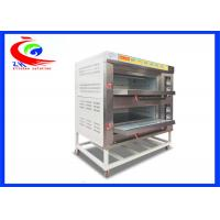 Quality 2 Decks 4 trays custom commercial Baking Equipment bread cake toast tandoor gas breakfast oven for sale