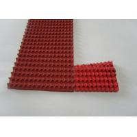 Quality Red Rubber Corrugated belt on Top Super Grip Belt Type A-13, B-17 ,C-22 for sale