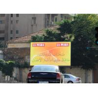 Buy cheap Full Color Outdoor Advertising Display Screens / SMD3535 P6 Commercial Led from wholesalers