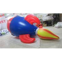 Quality Air Tight Inflatable Model PVC Advertising Inflatable Helium Rocket for sale