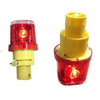 China solar road hazard warning light used on traffic cone/solar warning light for construction on sale