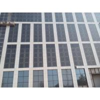 China BIPV Solar Module Customize Doulbe Glasses Solar Curtain Wall Double Skin Wall wholesale