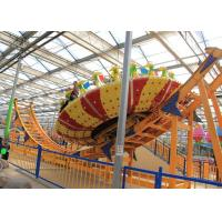Quality Frp Material Amusement Park Machines , Thrilling Flying Ufo Disko Rides for sale