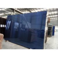 Quality 3300x2140mm Size 5mm Thickness Dark Blue For Building Construction for sale