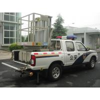 China Truck Mounted Boom Lift , Vertical Double Mast Hydraulic Elevating Platform on sale