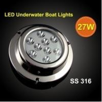 Quality Hot sale!! 27W 1200LM led surface mount boat lights,LED underwater light for sale