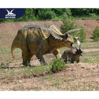 Buy cheap Customization Lifelike High Simulation Outdoor Dinosaur Model With Infrared Ray from wholesalers