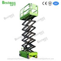 Quality 10m Working Height Hydraulic Self Propelled Scissor Lift with Extension Platform for sale