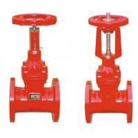 PN10 PN16 Resilient Seated Gate Valve With Rising Stem For Energetics Pipe