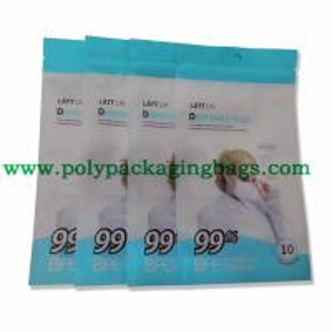 China LDPE Laminated 120 Microns Plastic Ziplock Bag on sale