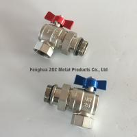 """China 1"""" Angle Ball Valve For Manifolds ,  Floor Manifold Angle Union Ball Valves, Manifold Angle Ball Valves 1″ BSP wholesale"""