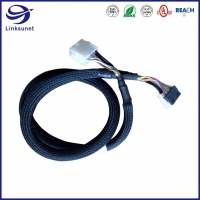 Quality Mini Fit Jr 5559 4.2mm Male Pin Connector Wire Harness For Radio Control for sale