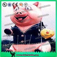 Quality Advertising Inflatable Animal Giant Event Inflatable Pig Model for sale