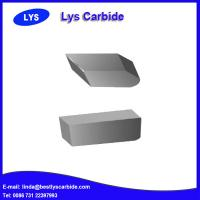 Quality Wear Resistant tungsten carbide saw tips for wood cutting tools for sale