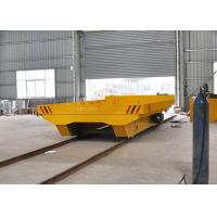 Quality Dragged Cable Powered Warehouses Transport Heavy Material Bogie On Rails for sale