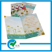 Quality OEM Customized Greeting Card Stock Paper Printing for Holiday Decoration & Gift for sale