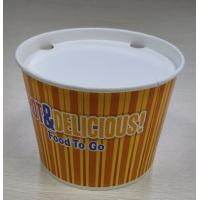 China Logo Customized Chicken Bucket Take Out Containers , Disposable Lunch Boxes on sale