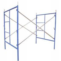 Quality Q195 / Q235, Pre-galvanized, Pump Jack Mobile H Frame Scaffolding for sale