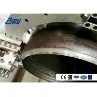 China Half Automatic Pipe Cutting Beveling Machine Pipe Tools in Split Frame Structure on sale