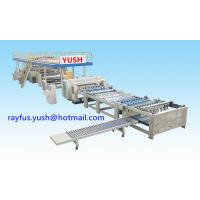 Quality Flute Type 1100mm Single Facer Corrugated Machine for sale