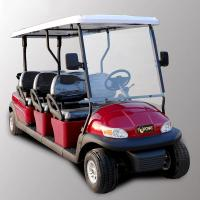 Quality Park 6 Seater Golf Cart Electric Sightseeing Car With 3.7kw KDS Motor for sale