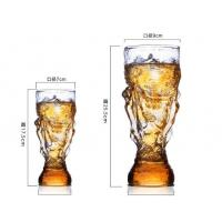 Quality Hercules cup glass beer cup Soccer World Cup Custom Cup Strong Beer Cup Drink Cup beer cup for sale