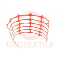 Quality Ski Areas / Construction Barrier Netting , Warning Builders Orange Plastic Fencing for sale