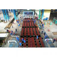 Quality ISO9001 1-10 strands Billet CCM Continuous casting machine with Auto torch cutting for sale