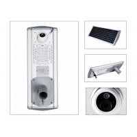 Quality Outdoor Surveillance 30W Solar LED Garden Light Monocrystal Panel With Camera for sale