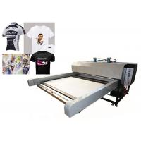 China Sublimation Textile Printing Machine / Digital Flatbed Printer High Efficiency on sale