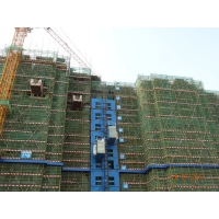 Quality SC200/200 Humanized Cage Comfortable Rack Pinion Construction Site Elevator for sale