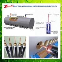 China pressured copper coil solar water heater on sale