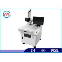 China Economic 10W Portable Laser Marking Machine For Metal / Epoxy Resin Plastic wholesale