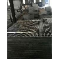 China 32 X 5mm Galvanised Grid Mesh Chemical Plant Irrigation Waste Water Treatment Platform on sale