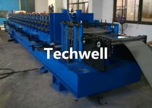 Quality Size Adjustable Storage Shelf Rack Panel Roll Forming Machine for sale