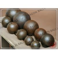 Quality Good Toughness Hot Rolling Steel Balls , 35mm Sag Mill Grinding Ball for sale