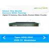 MER 50dB CATV Channel Modulator / Digital DPD IP ASI Modulator DVB UHF 470~860Mhz