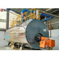 Quality 2T Natural Gas Steam Boiler Plc Control System Work Efficiently Safety for sale