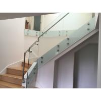 Best price balcony frameless glass railings with glass standoff