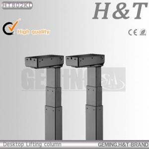 Quality HT802KD four column parking car lift lift column Office table lifts single column lift for sale
