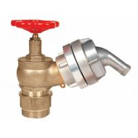 Quality Brass 2.5 Fire Hydrant Landing Valve OEM / ODM For Water Applications for sale