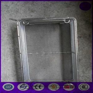 Quality Medical sterilizing basket/Wire Mesh Basket,Mesh Basket (304,304l,316,316l) PRICE for sale