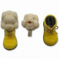 Quality Promotion Gift Cartoon USB Flash Drives with 512MB to 32GB, No External Power Required for sale