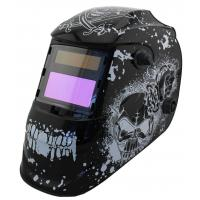 Quality Safety Solar Powered Auto Darkening Welding Helmet Large View For Metal Man / Huntsman for sale