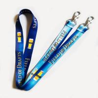 Buy cheap custom polyester woven lanyards from wholesalers