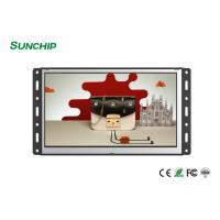 Wall Mounted Open Frame LCD Display , 4G Optional Open Frame Touch Screen Monitor