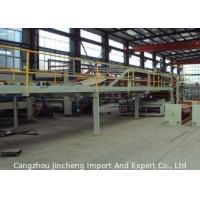 Quality Paper 5 Ply Corrugated Board Production Line With 56 Meters Total Length for sale