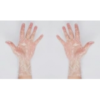 Quality Transparent Waterproof Disposable PE Gloves UM1101T for sale