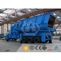 Quality Chemical Industry Mobile Quarry Plant Electric Motor Mobile Stone Crusher Machine for sale