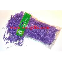 Quality Gift wrapping box tissue shredded colorful paper shredded packing shredded for sale